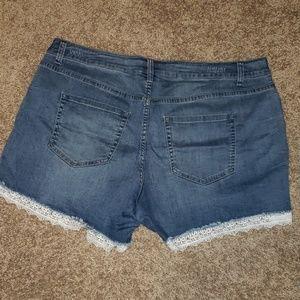 Lane Bryant Shorts - Lane Bryant gf shorts